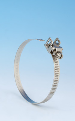 Schnellverschluss-Schelle 7mm Band Rostfreier Stahl (W4) 100mm